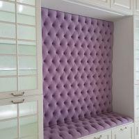 Мягкая стеновая панель - Капитоне (каретная стяжка)