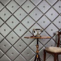 Мягкая стеновая панель Ромбы