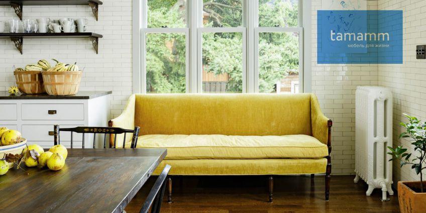 Идеальная ткань для кухонного дивана