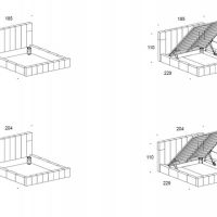 Мягкая кровать ЕВА