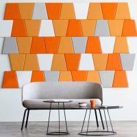 Мягкая стеновая панель Мозаика